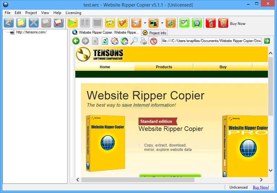 2Websit ripper copier