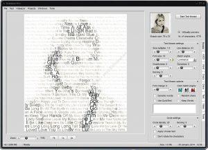 ساخت تصاویر متنی از عکس