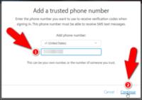 شماره تلفن جدید را وارد کنید-باز کردن اپل آیدی قفل شده