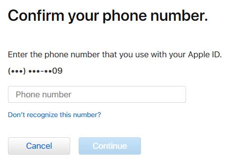شماره تلفنی که آخرش این شماره هاست وارد کنید
