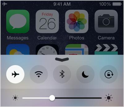 کاهش نور صفحه نمایش