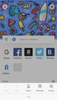 9.Aloha Browser- برنامه مرورگر آیفون با استفاده از VPN داخلی