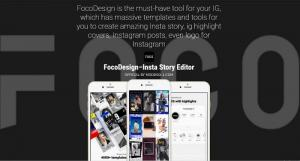 دانلود FocoDesign برنامه ساخت استوری های تبلیغاتی